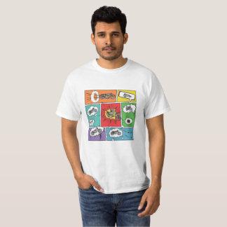 Camiseta Moto na Veia - Pop Art 01