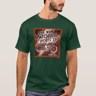 Camiseta Motocicleta 250 incomparável