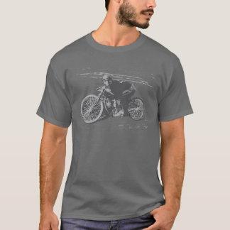 Camiseta Motocicleta Racer#3 da trilha do conselho do