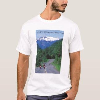 Camiseta Motociclismo o laço cénico de Selkirk