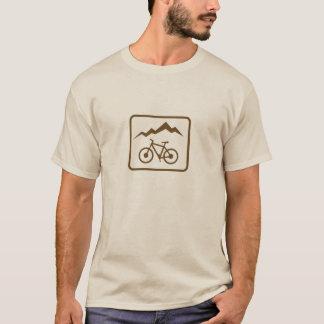 Camiseta Motociclista da montanha