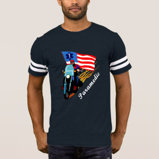 Camiseta Motociclista do paramédico