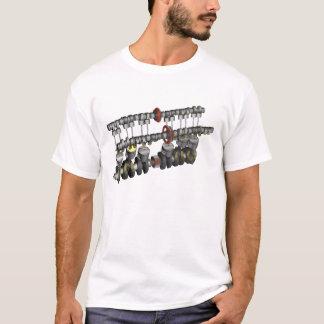 Camiseta Motor 1000 da motocicleta de CBX
