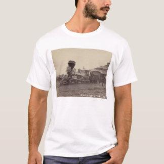 Camiseta Motor de vapor Alexandria, t-shirt do trem do Va