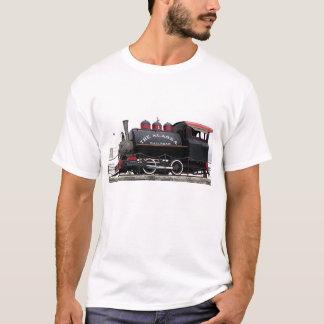 Camiseta Motor de vapor velho da estrada de ferro de