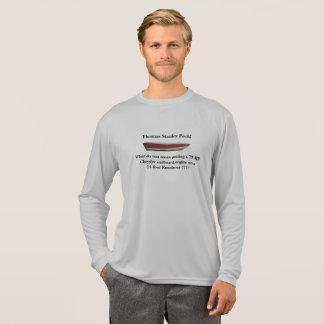 Camiseta Motor memorável de HP da mercadoria 75 do Peck de