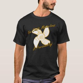 Camiseta motorboat uma personalidade