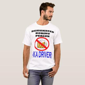 Camiseta Motorista designado