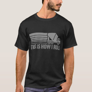 Camiseta Motorista do misturador