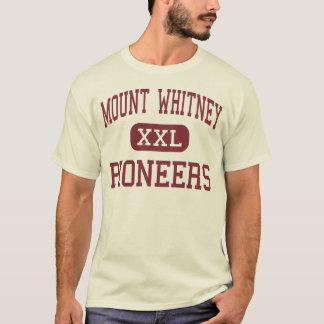 Camiseta Mount Whitney - pioneiros - alto - Visalia