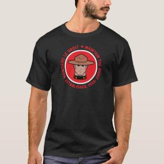 Camiseta Mountie canadense