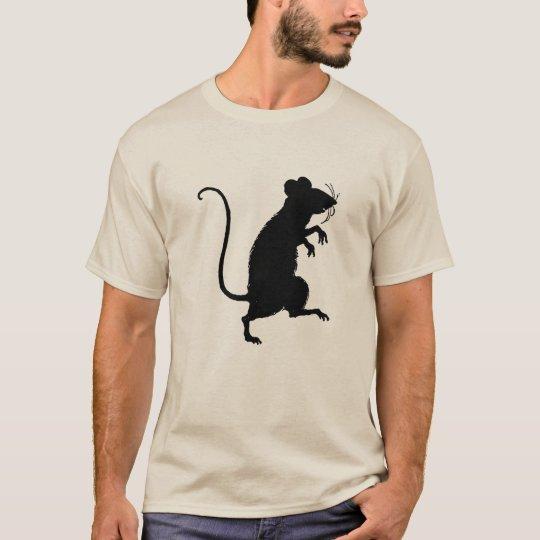 Camiseta Mouse silhouette
