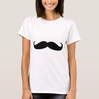 Camiseta moustach engraçado