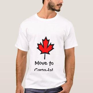 Camiseta Mova-se para Canadá!!