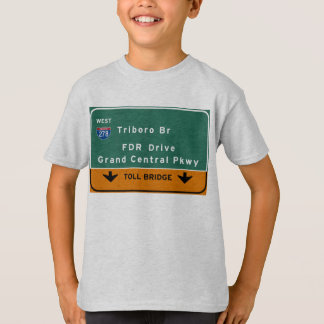 Camiseta Movimentação do FDR do Br de Triboro da Nova