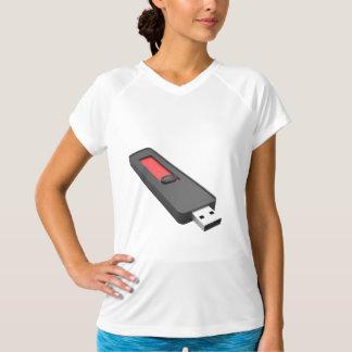 Camiseta Movimentação do flash de USB