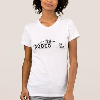 Camiseta Movimentação do rodeio, Los Angeles, sinal de rua