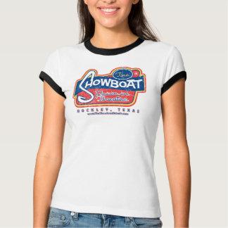Camiseta Movimentação do Showboat no T resistido da