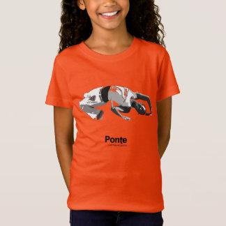 Camiseta Movimentos de Capoeira, ponte