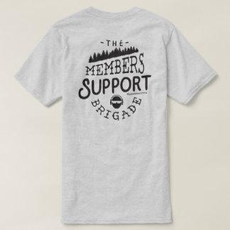 Camiseta MSB com t-shirt das árvores