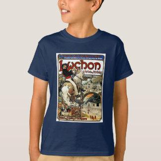 Camiseta Mucha - Luchon - casino - arte Nouveau