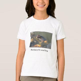 Camiseta Muckapog a rã de madeira