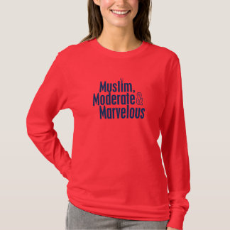Camiseta Muçulmanos, moderado & maravilhoso
