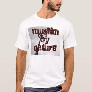 Camiseta muçulmanos por natureza