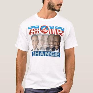 Camiseta mudança 2012 de Herman cain