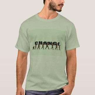 Camiseta mudança da busca