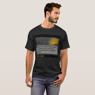 Camiseta Mude acontece somente (2) o t-shirt dos homens