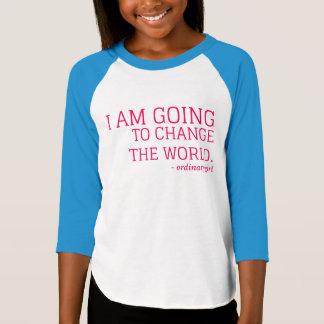 Camiseta Mude o mundo