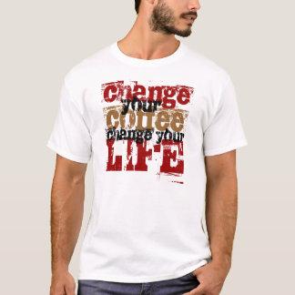 Camiseta Mude seu café