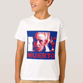 Camiseta Muerto de Castro (cubana de colores de bandera)