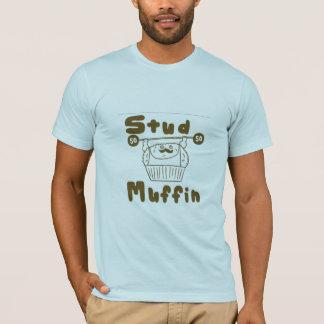 Camiseta muffin do parafuso prisioneiro