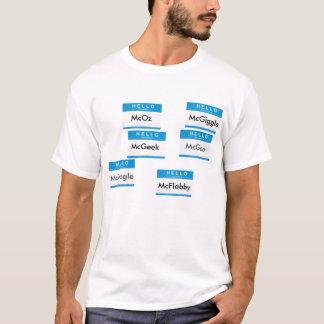 Camiseta Muitas caras de Tim McGee