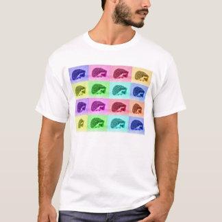 Camiseta Muitas matiz dos ouriços