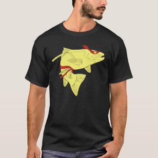 Camiseta Muito túnica de Ninja