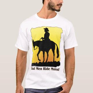 Camiseta Mulas reais do passeio dos homens