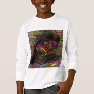 Camiseta Mulher abstrata dois