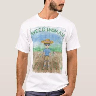 Camiseta Mulher da erva daninha