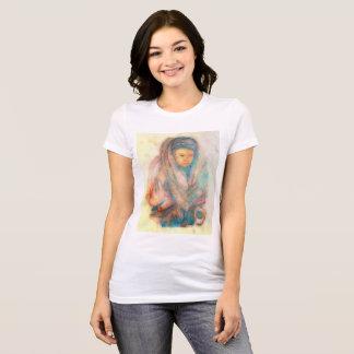 Camiseta Mulher de Tibet: A parte dianteira de Earthtone,