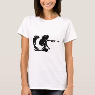 Camiseta Mulher de Wakeboard
