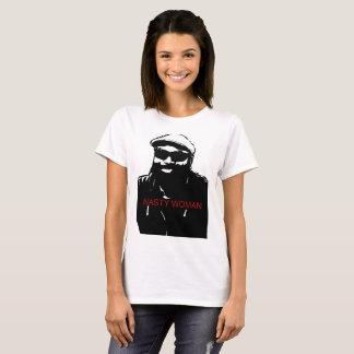 Camiseta Mulher desagradável/Hombre mau
