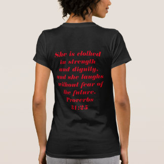 Camiseta mulher do reino