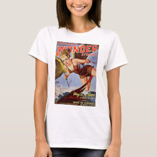Camiseta Mulher do vôo