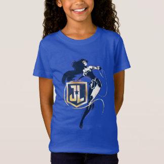 Camiseta Mulher maravilha da liga de justiça | & de ícone