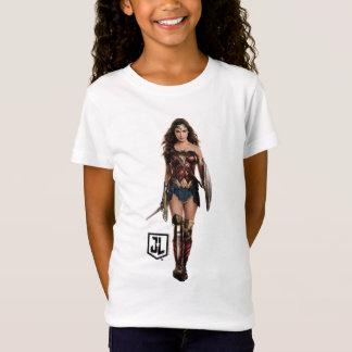 Camiseta Mulher maravilha da liga de justiça | no campo de
