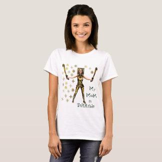 Camiseta Mulher maravilha dourada, 2 espadas -