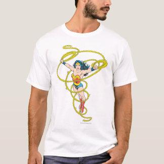Camiseta Mulher maravilha no laço